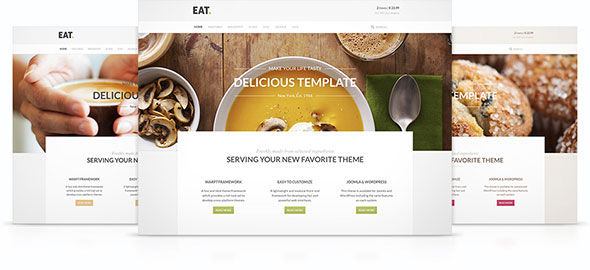 Eat v1.0.2 — Yootheme WordPress Theme