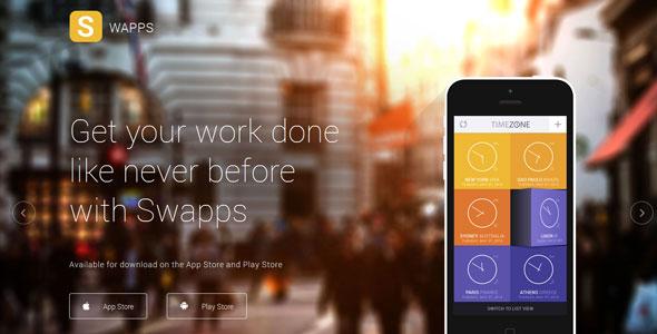 Swapps — Shape5 Joomla Template