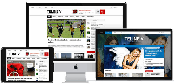 JA Teline V — Joomlart template for News and Magazine