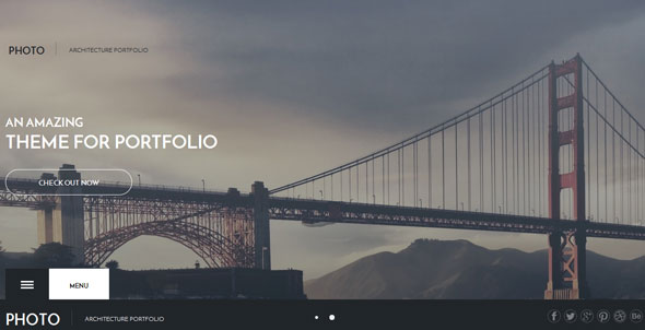 Photo — Gavikpro Photo Architecture Joomla Template