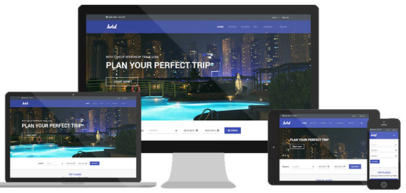 JA Hotel — Joomlart Responsive Hotel and Travel template