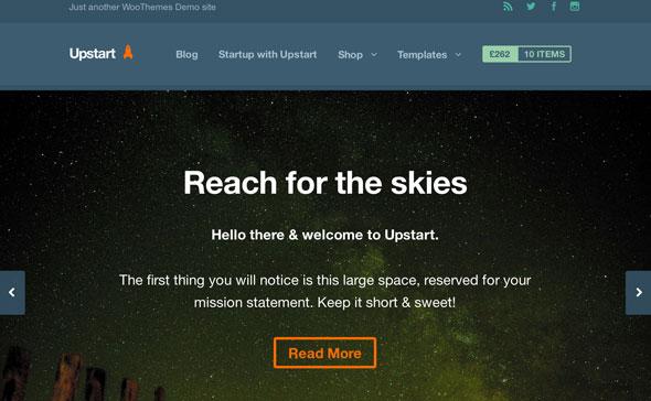 Upstart v1.1.9 — Woothemes Premium Theme