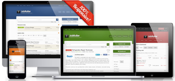 JobRoller v1.7.5 — AppThemes WordPress Job Board Theme