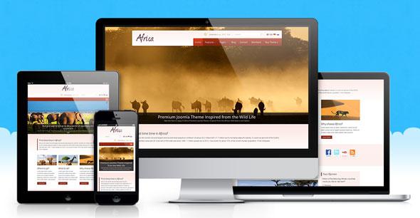Africa — Icetheme Wild-life Joomla Template