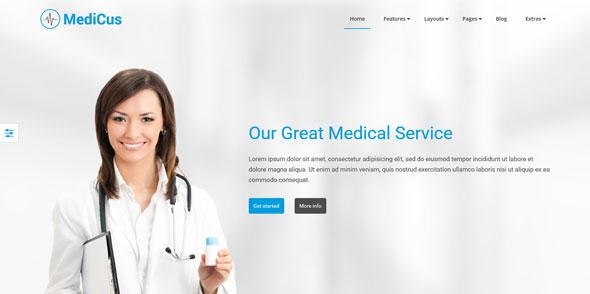 Medicus — YouJoomla Medical Joomla Template