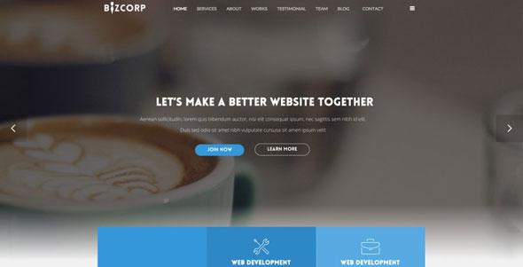 TX BizCorp — ThemeXpert Responsive Onepage Joomla