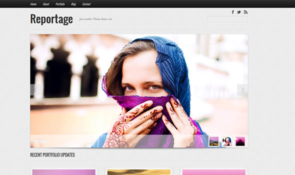 Reportage v1.1.3 — Graphpaperpress Portfolio Theme