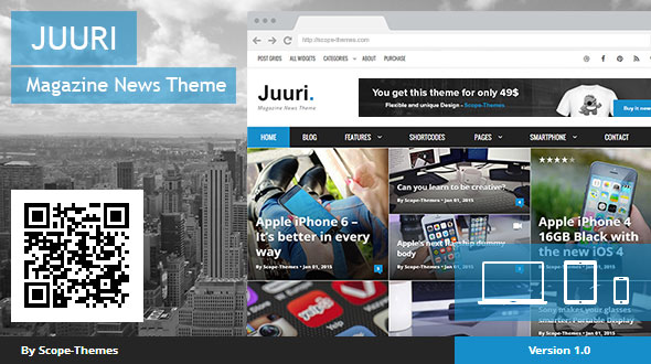 Juuri – Magazine and News WordPress Theme
