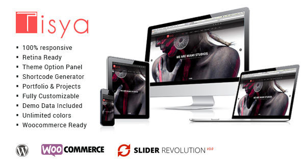 Tisya – Responsive Multipurpose WordPress Theme