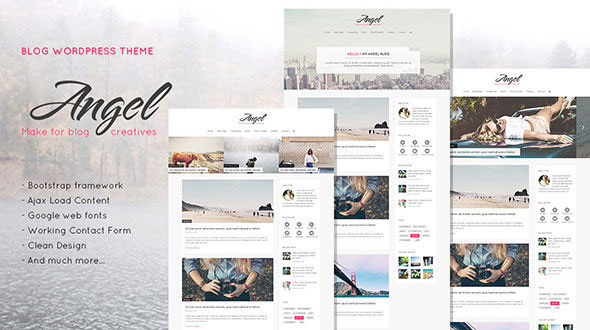 Angel – Creative & Elegant Blog WordPress Theme