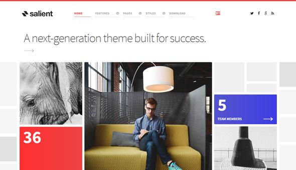 Salient — Rockettheme Premium Joomla Template