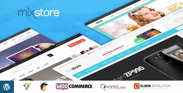 MixStore v1.6 — MultiShop WooCommerce Theme