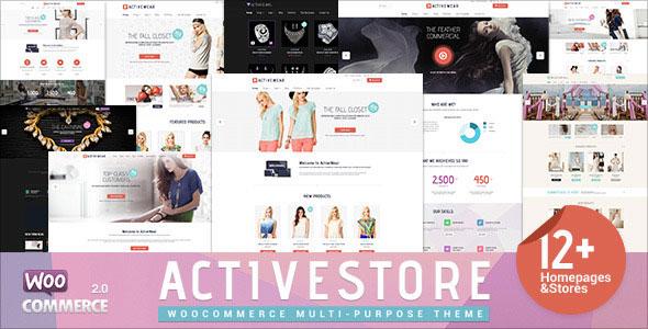 ActiveWear v1.1.5 — WooCommerce Responsive WordPress Theme