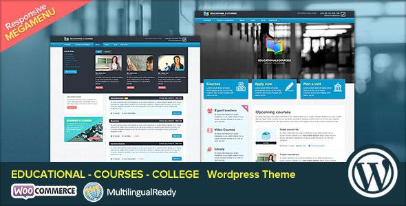 EDU v2.0 — Educational, Courses, College WP Theme