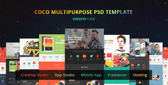 Coco — Multipurpose PSD