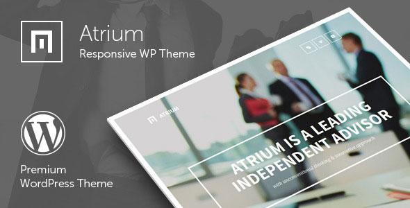 Atrium v2.1 — Responsive One Page WordPress Theme