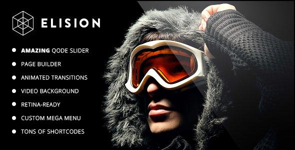 Elision v2.9 — Retina Multi-Purpose WordPress Theme