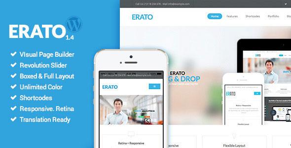 Erato v1.5 — Multipurpose WordPress Theme