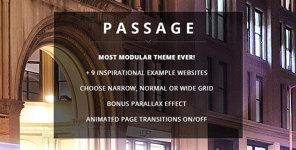 Passage v1.6 — Themeforest Responsive Retina Multi-Purpose Theme