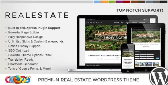 WP Pro Real Estate 5 v1.3.9 — Responsive WordPress Theme