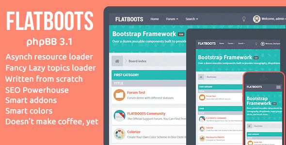 FLATBOOTS — phpBB 3.1 and 3.0