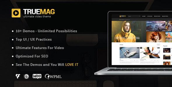 True Mag v4.2 — WordPress Theme for Video and Magazine