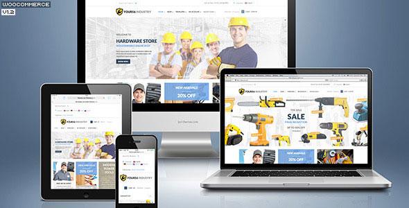 456Industry v1.3.8 — eCommerce WordPress Theme