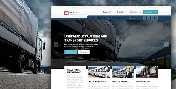 CargoPress v1.4.0 — Logistic, Warehouse & Transport WP