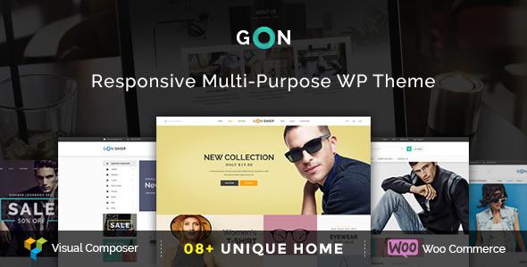Gon — Responsive Multi-Purpose WordPress Theme