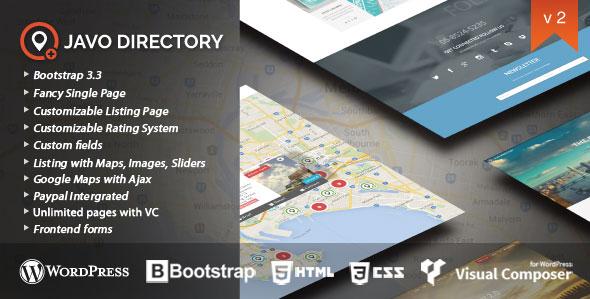 Javo Directory v2.2.2 — WordPress Theme