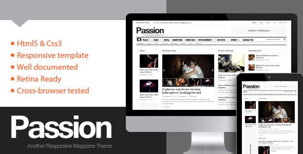 Passion v2.1.1 — Themeforest Magazine WordPress Theme