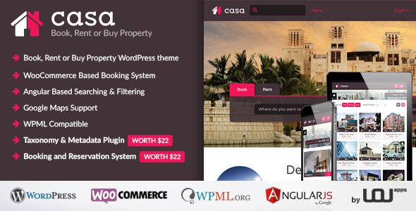 Casa — Book, Rent or Buy Property