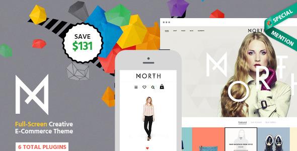 North v2.0.2 — Themeforest Unique E-Commerce Theme