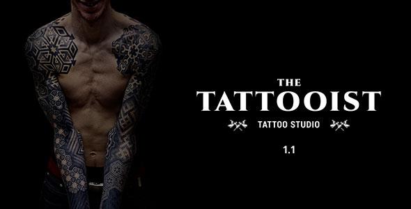 The Tattooist — Tattoo & Body Art Studio Template