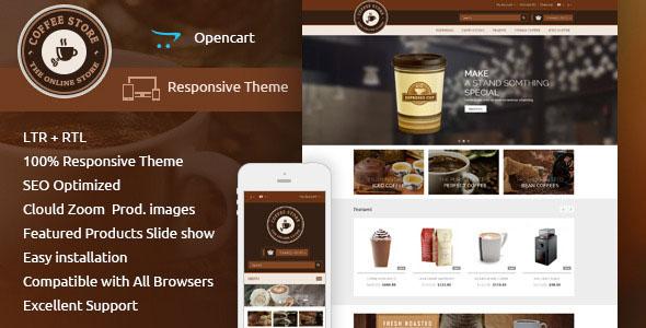 Coffee — Opencart Responsive Theme