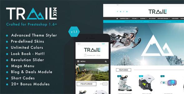 TrailMix — Multi Purpose Responsive Prestashop Theme
