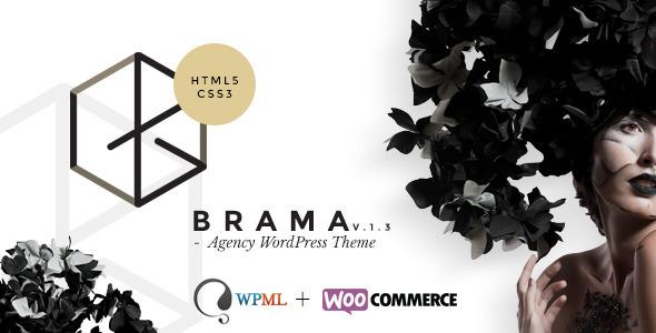 Brama v1.4.1 — Themeforest Premium Agency Theme