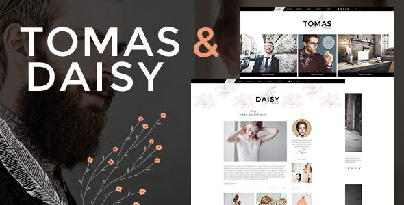 Tomas & Daisy — A Stylish Blog for Him & Her