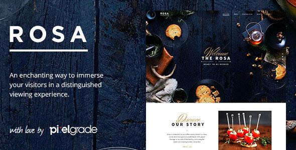 ROSA v1.8.1 — An Exquisite Restaurant WordPress Theme