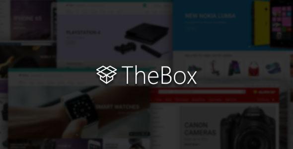 TheBox — Ultimate E-Commerce HTML Template