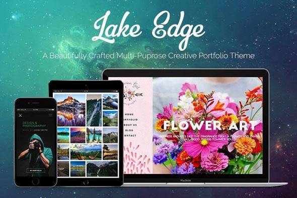 LAKE EDGE — Creative Portfolio Theme