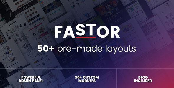 Fastor — Multipurpose Responsive Opencart Theme