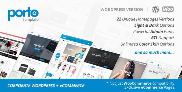 Porto v2.6.1 — Responsive eCommerce WordPress Theme