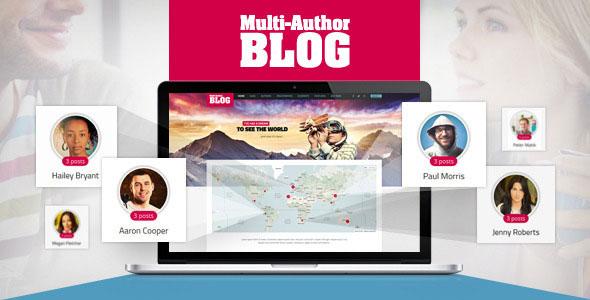 Multi-Author Blog WordPress Theme v1.4.0