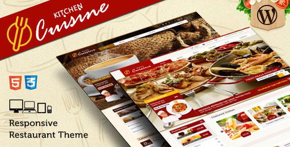 Kitchen Cuisine v1.4.0 — Restaurants & Café WP Theme