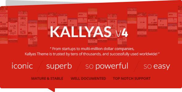 KALLYAS v4.0.9 — Responsive Multi-Purpose WordPress Theme