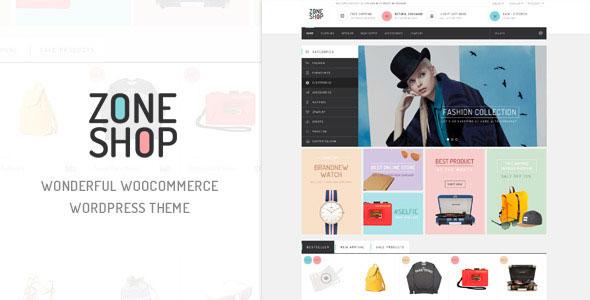 ZoneShop v1.6 — Wonderful Responsive WooCommerce Theme