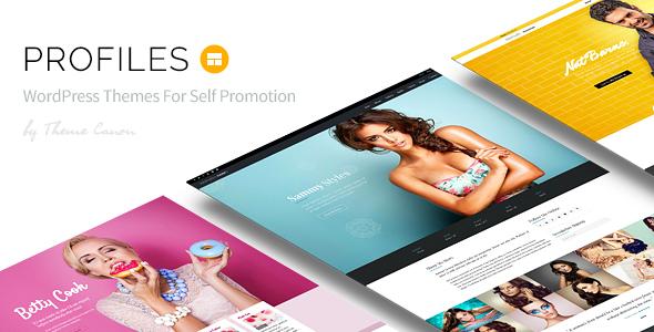 Profiles v1.0 — Responsive WordPress Theme