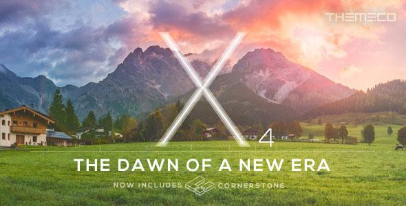 X v4.3.0 — Themeforest Premium WordPress Theme