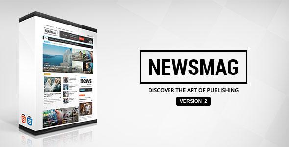 Newsmag v2.3.3 — Themeforest News Magazine Newspaper